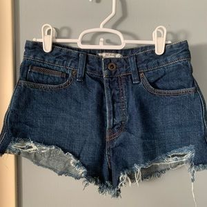 Free People size 25 jean shorts